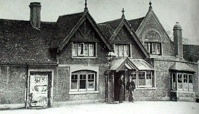 The Swan Inn 1890 - image from the Birmingham History Forum website