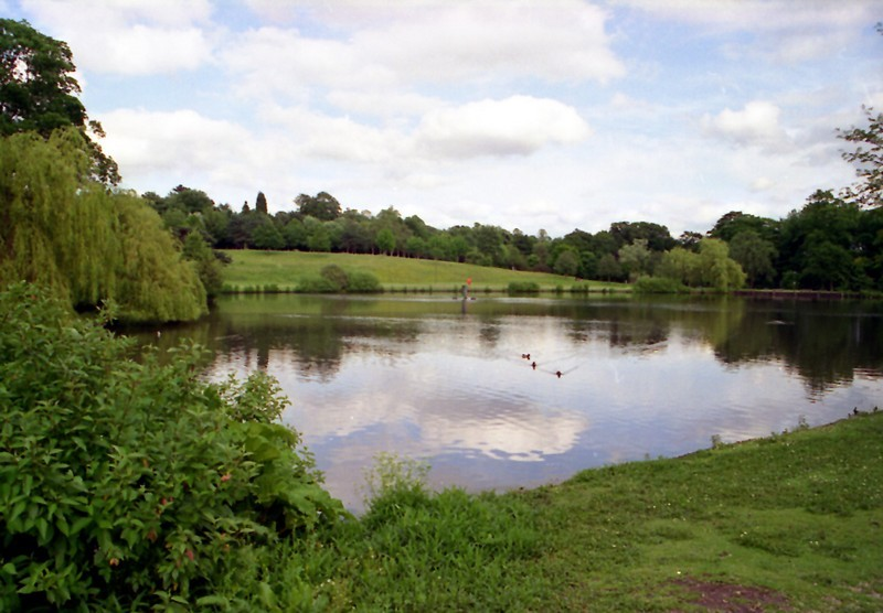 A view of the remarkable area of parkland known as The Vale, off Edgbaston Park Road, around which several of the university's halls of residence are situated.