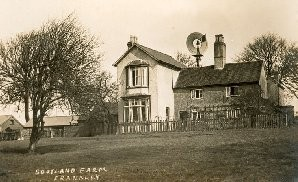 Scotland Farm before the Second World War, much altered since. Image from Ann's Frankley page