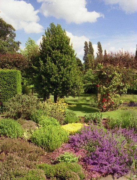 Winterbourne Botanic Garden. The gardens are open to the public most days, subject to a small admission charge.