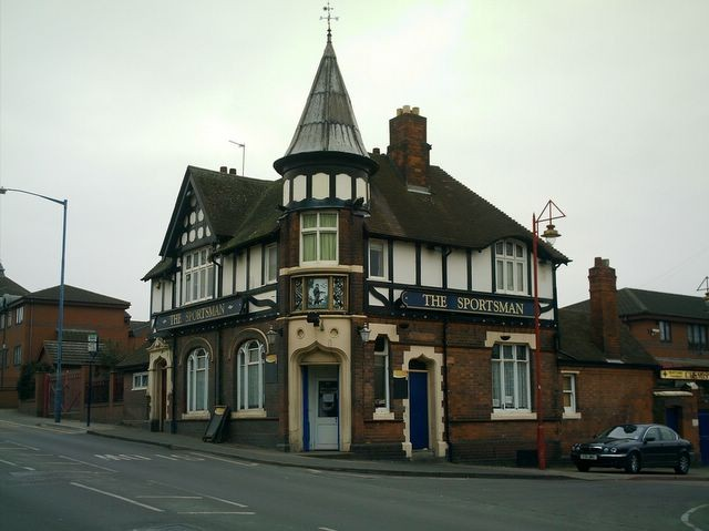 The Sportsman, Garrison Lane. The image is courtesy of David Fisher - All Rights Reserved. Permission for reuse should be sought from the copyright holder. See Acknowledgements for a link to David Fisher's blog, Brummages.. (or What Is It Like Now?).