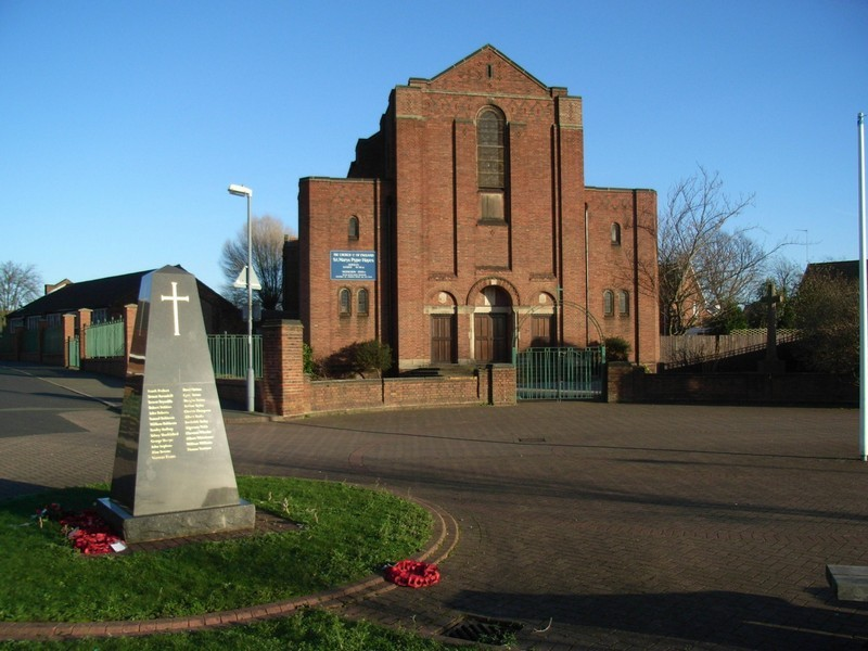 St Mary's Church, Pype Hayes and War Memorial