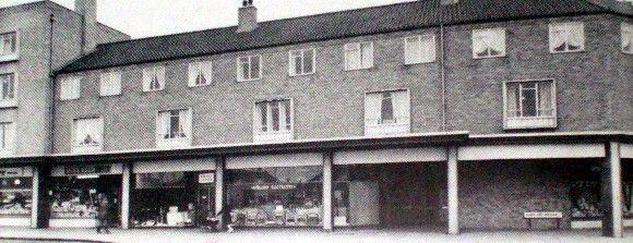Shard End shops 1961