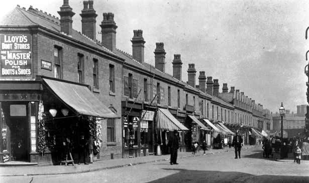 Winson Green Road in the early 20th century