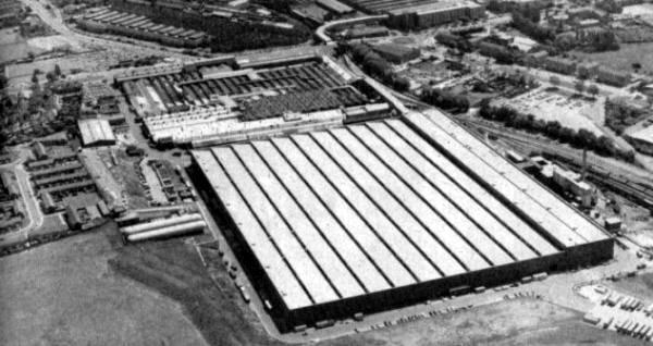 Longbridge car plant c1980