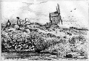 This may be David Cox's Wake Green windmill