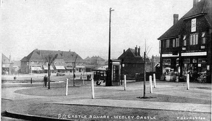 Castle Square 1936 - image from John Boughton's Municipal Dreams website