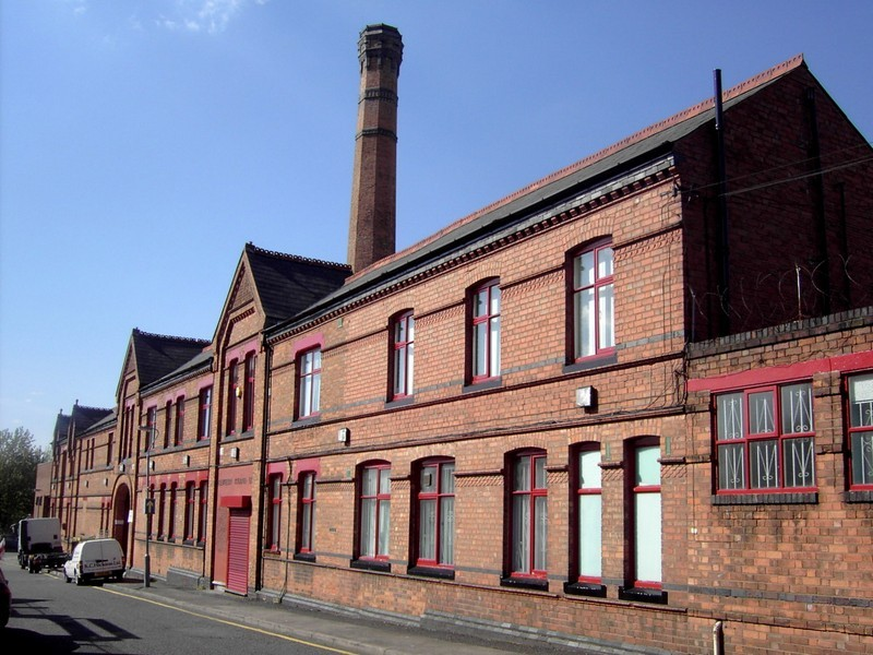 Llewellyn Ryland paint factory, Haden Street