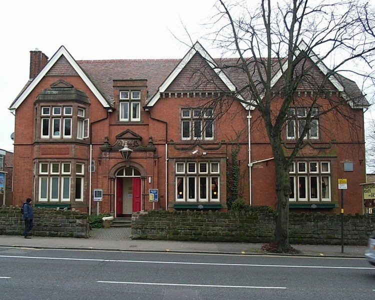 19th-century house on the Alcester Road