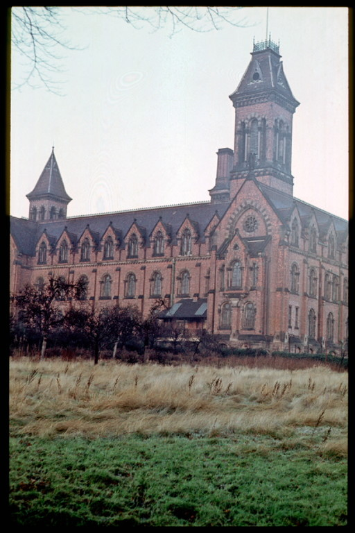 Mason's Orphanage photographed in the 1960s by Phyllis Nicklin. See Acknowledgements Keith Berry.