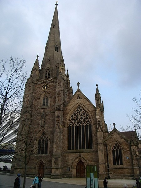 St Martin's-in-the-Bull Ring, the west front