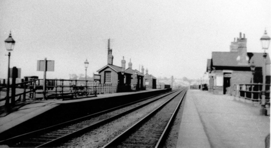 Lifford station , Birmingham & Gloucester Railway