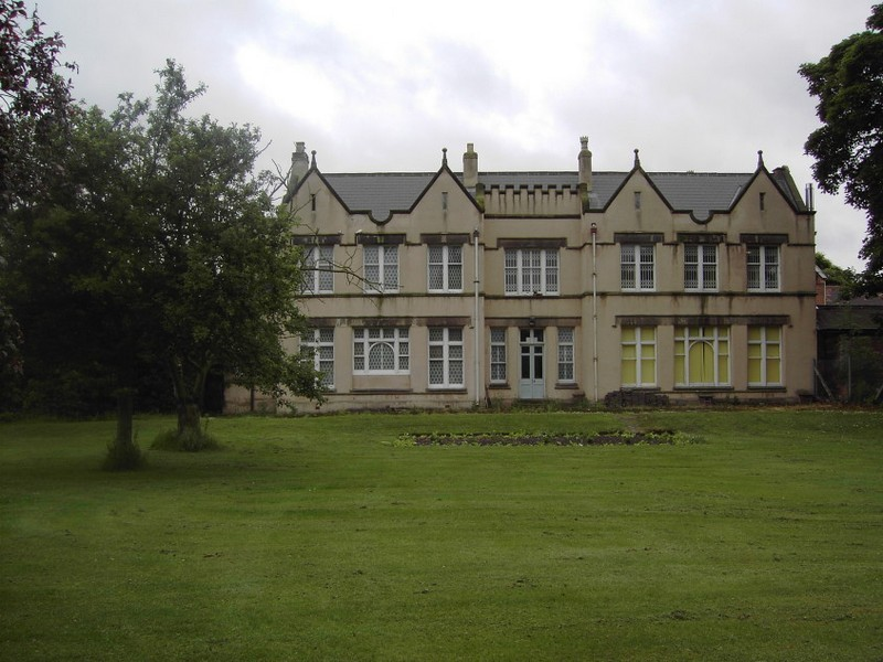 Pype Hayes Hall - east front