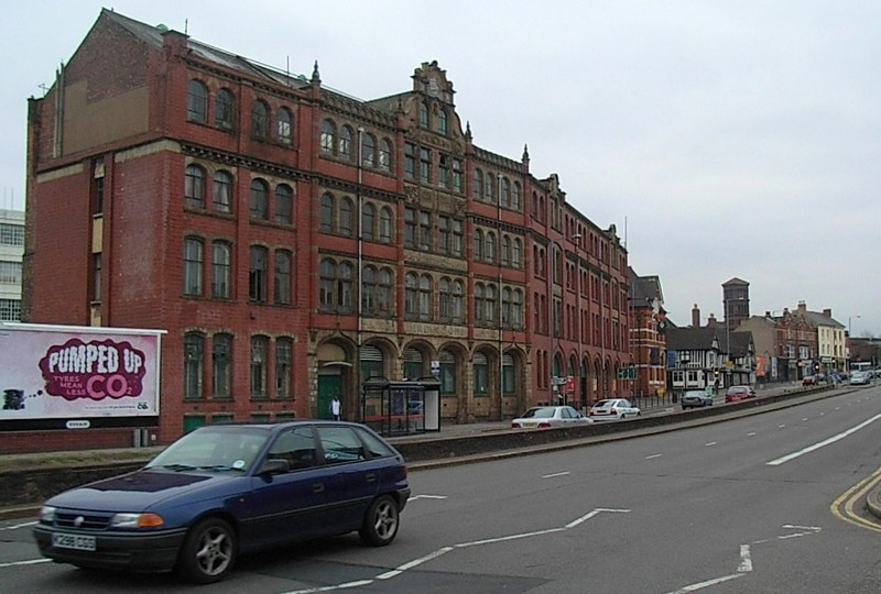 Devonshire House, the offices of the Bird's Custard Factory