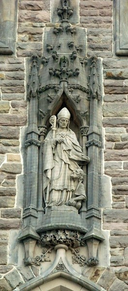 Statue of St Martin