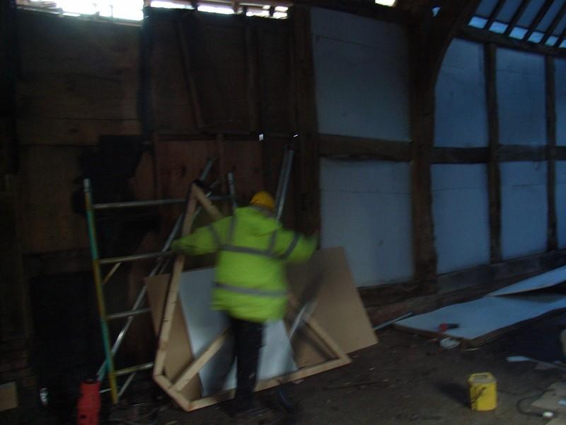 Primrose Hill Farm barn 05.12.08