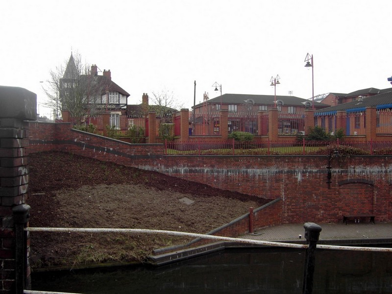 The small shopping centre of Bordesley Village off Garrison Lane.