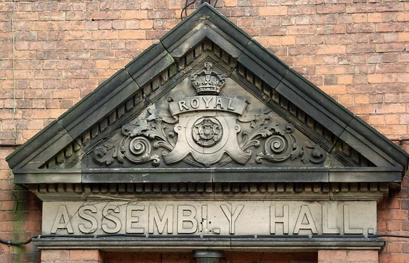 Sutton Assembly Rooms - detail