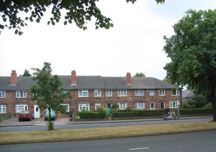Municipal housing on Washwood Heath Road