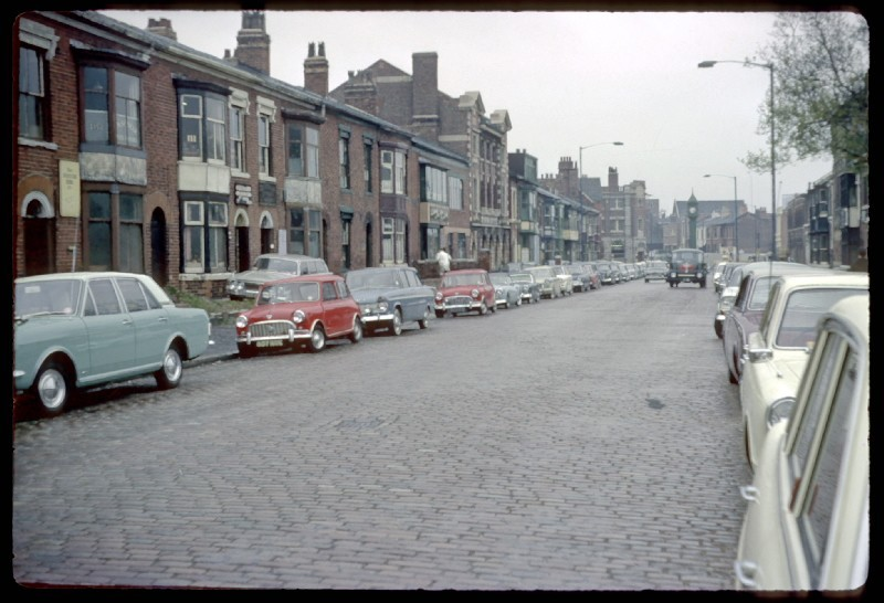 Vyse Street 1967. Photograph by Phyllis Nicklin - See Acknowledgements, Keith Berry.