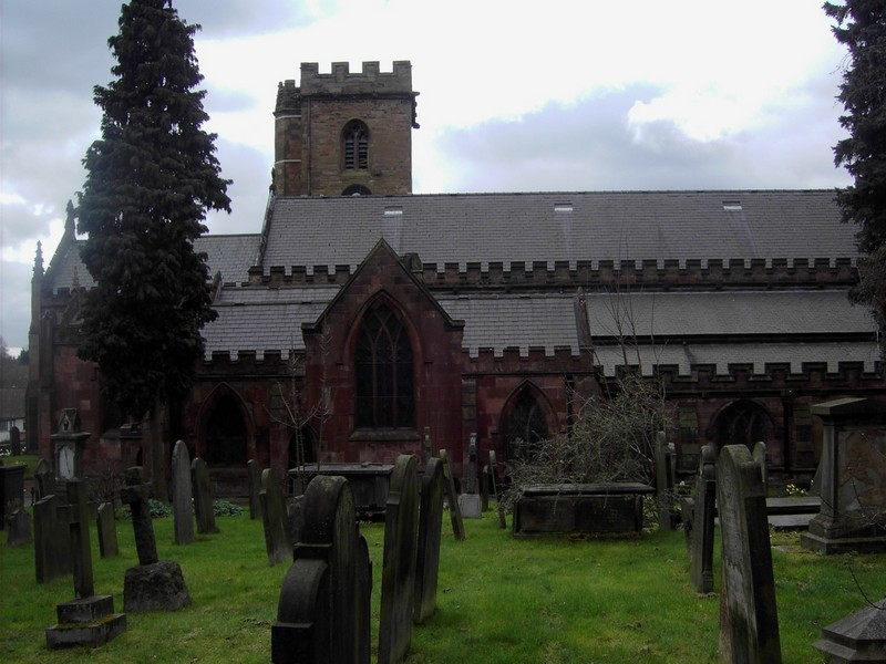 St Mary's Church, the south aisle