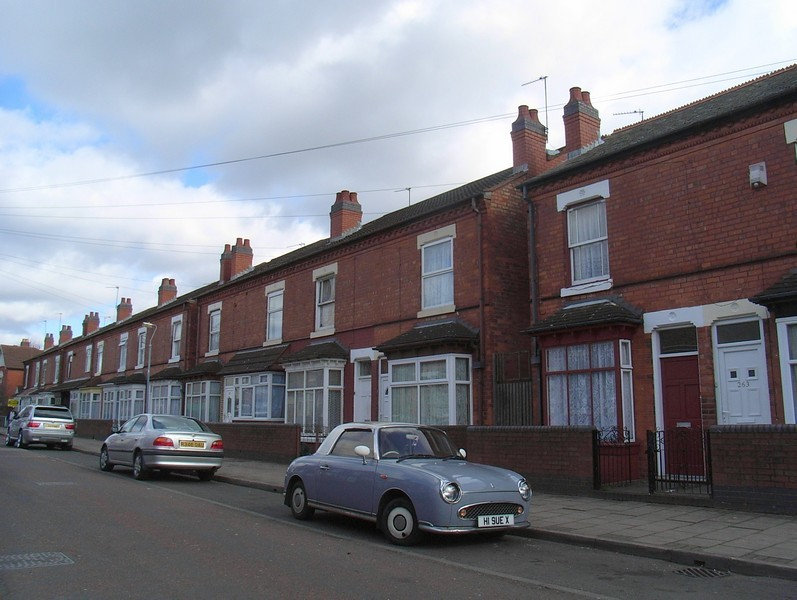 Houses on Tennyson Road