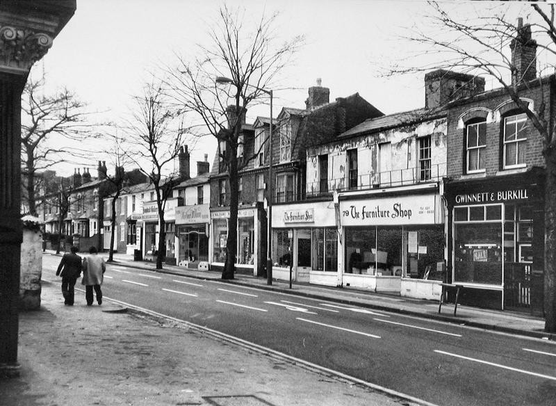 Hamstead Road, near the junction with Villa Road, 1960s? Reproduced with the kind permission of Keith Berry