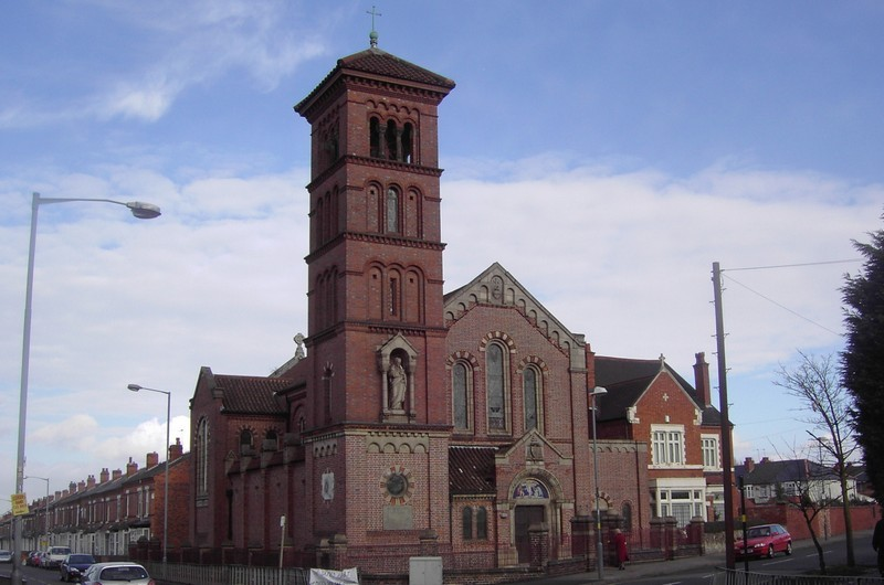 The Sacred Heart RC Church, Witton Road/ Prestbury Road