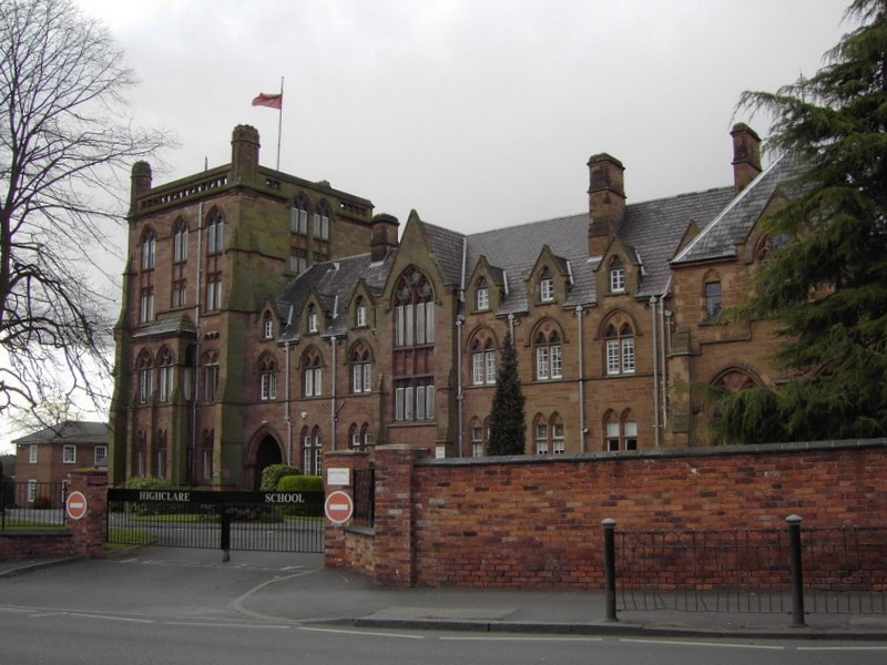 Erdington Abbey, now a private school