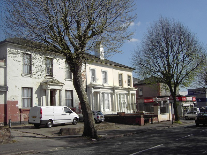19th-century houses on the Moseley Road
