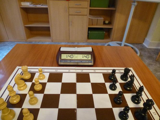 Schachregeln Zeit