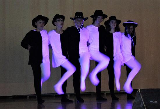 Schwarz-Weiß-Tanz