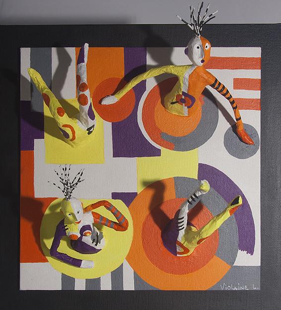 Les Passe-Muraille-Immersion - 2019 - 30 x 30 cm
