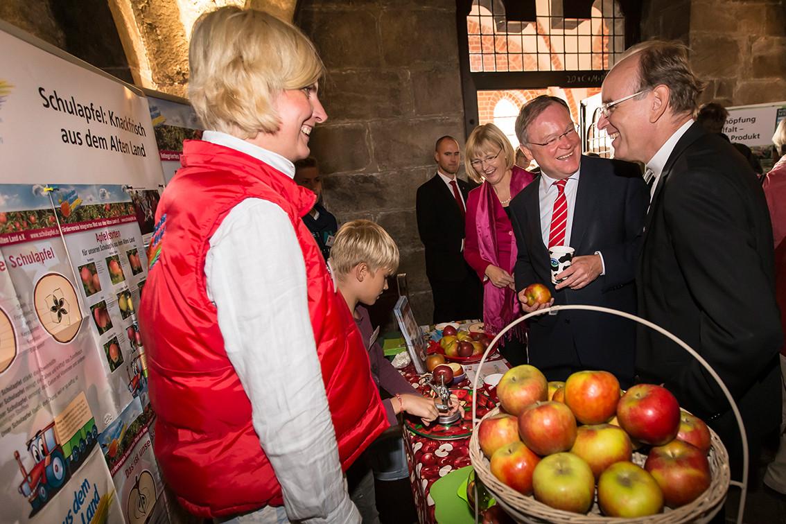 Landeserntedankfest Niedersachsen, 05.10.2014, Dom zu Bardowick (Foto: Claßen)