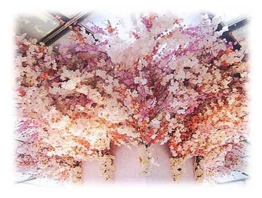 桜飾りの販売