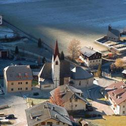 Urlaub in Südtirol: Weissenbach im späten Herbst