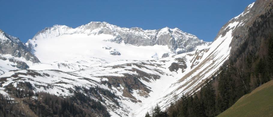 Ein Prachtberg, der Turnerkamp - Gletscherwanderung in Ihrem Urlaub im Ahrntal