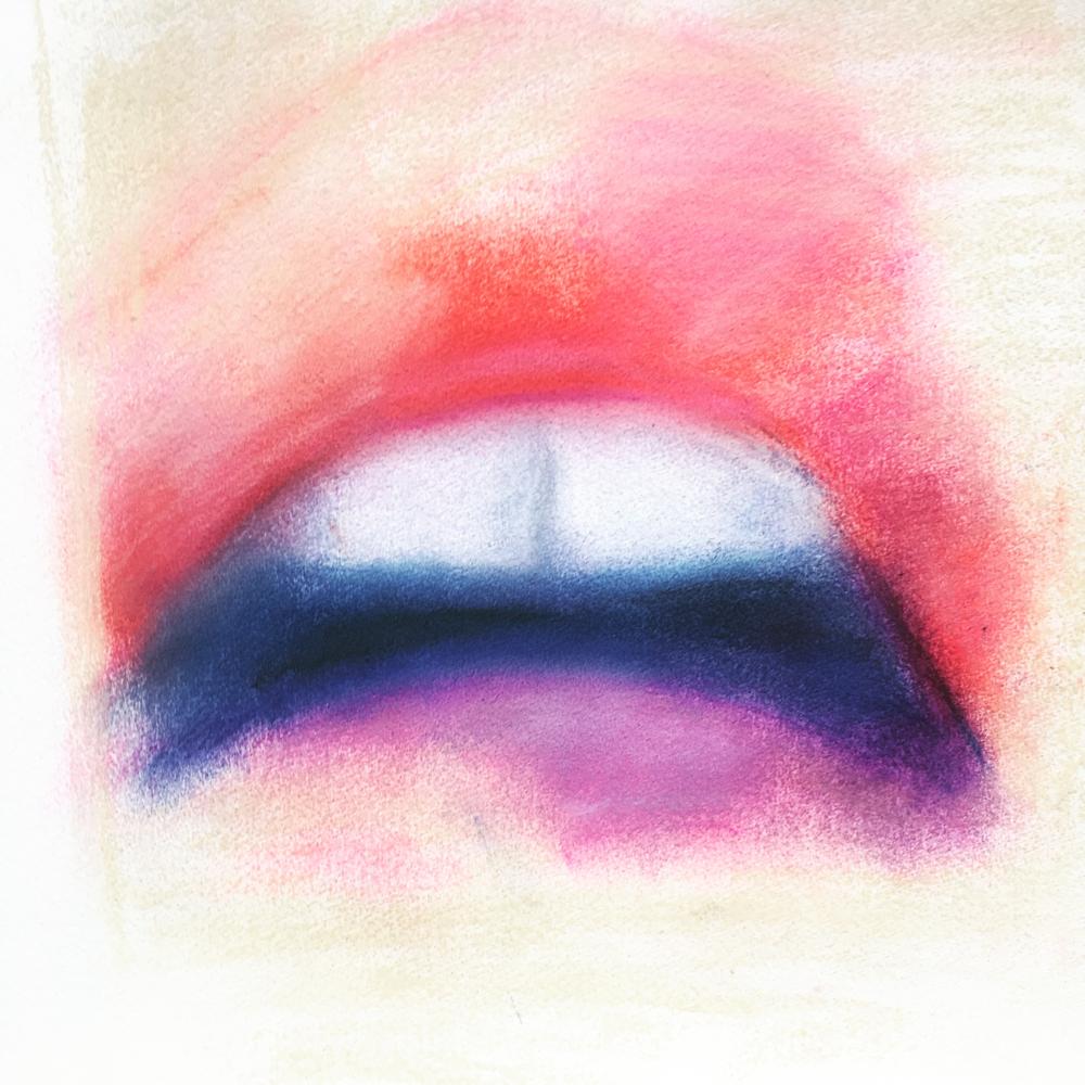 Color 3, Pastel on Paper, 50 x 35 cm, 2017