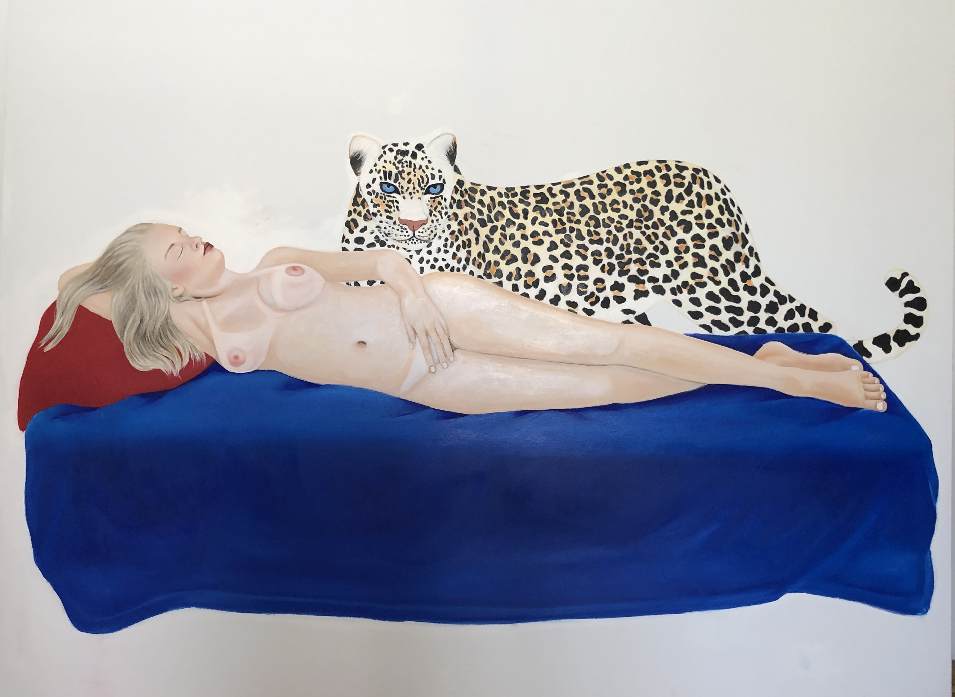 Venus after Giorgione/Two Oil on Canvas, 150 x 200 cm, 2019
