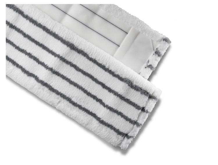 Mikrofasermopp mit grauen Borsten