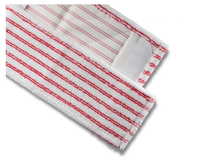 Mikrofasermopp SANI mit roten Borsten