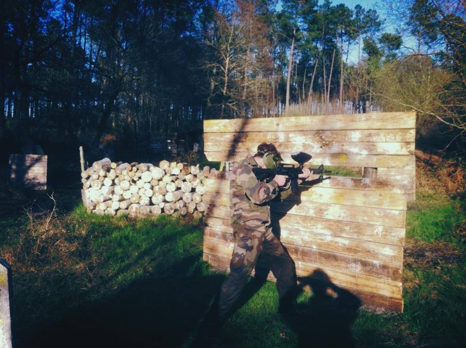 Paintball landes vs airsoft