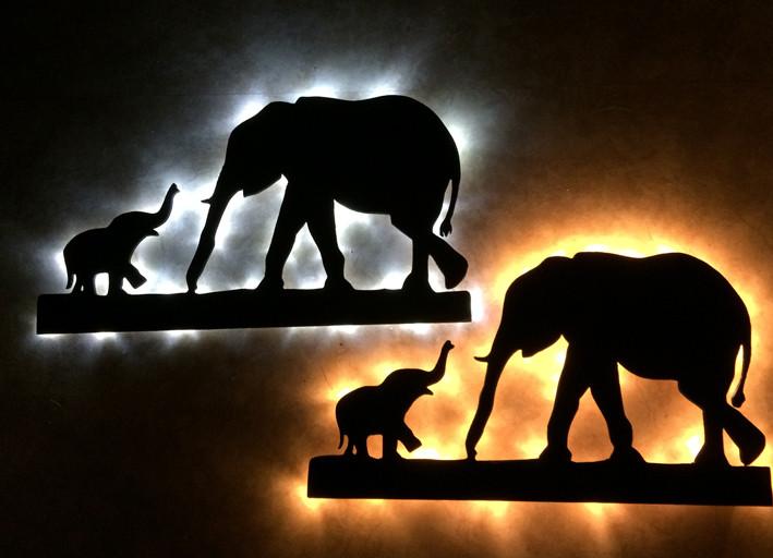 schattenbilder indirekte beleuchtung stefnics zauberholz