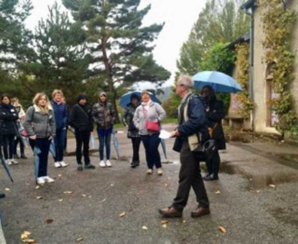 Visite guidée réalisée par Yves GIRAUDON - Guide l'Office de Tourisme