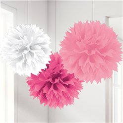 Pompom Mix, Rosa