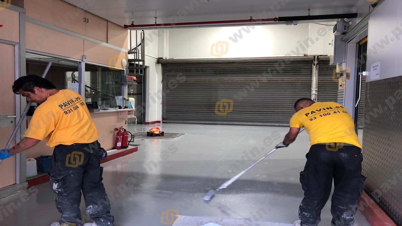 Reparaciones en pavimentos de hormigón