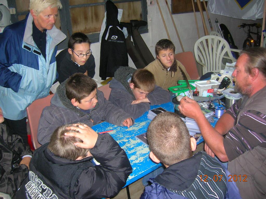 cours Théorique et sensibilisation au milieu marin
