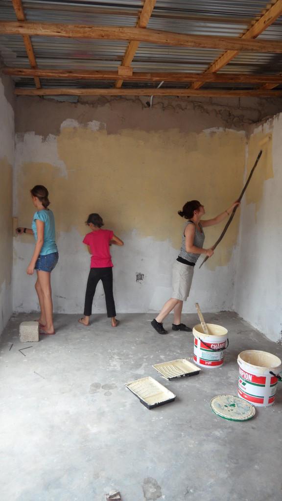 Joanna, Larina und Hannah
