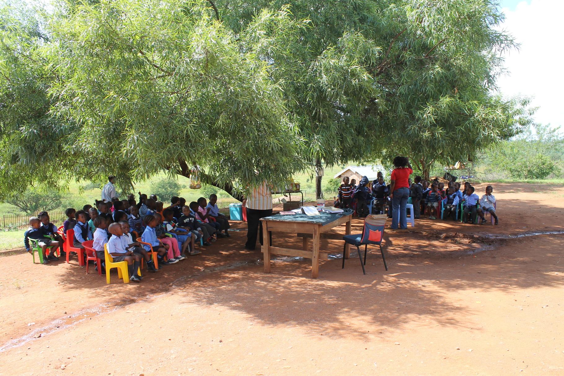 """zwei Kindergarten- Gruppen im """"Baumzimmer"""""""