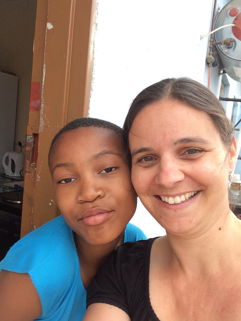 Selfie: Nosi und ich